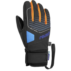 Reusch Torby R-TEX XT Gants Adolescents, black/brilliant blue